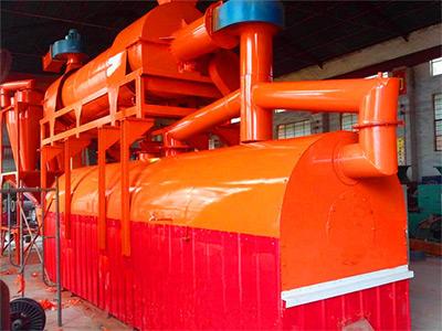 Оборудование карбонизации биомассы