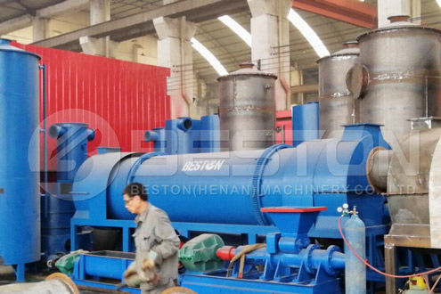 Установка для карбонизации биомассы
