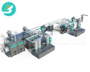 Пиролизная установка для биомассы