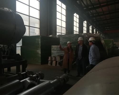 Клиенты из России посетили наш завод